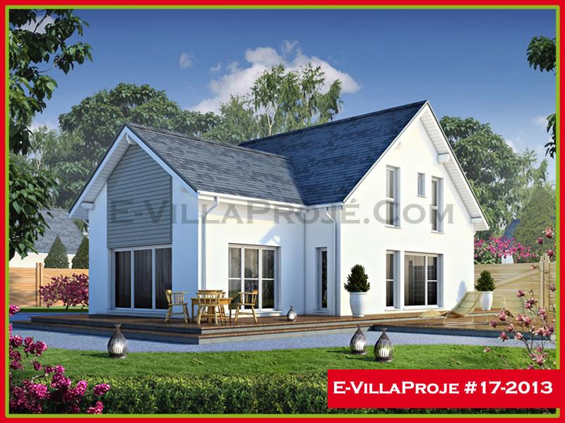 Ev Villa Proje #17 – 2013, 2 katlı, 3 yatak odalı, 212 m2