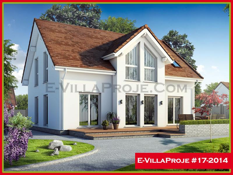 Ev Villa Proje #17 – 2014, 2 katlı, 5 yatak odalı, 194 m2