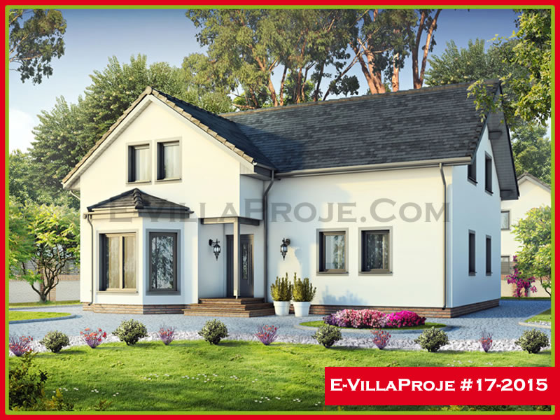 Ev Villa Proje #17 – 2015, 2 katlı, 5 yatak odalı, 233 m2
