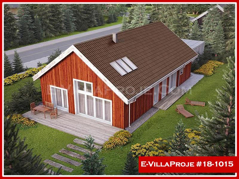Ev Villa Proje #18 – 1015, 1 katlı, 2 yatak odalı, 2 garajlı, 161 m2
