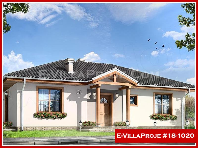 Ev Villa Proje #18 – 1020, 1 katlı, 3 yatak odalı, 0 garajlı, 102 m2
