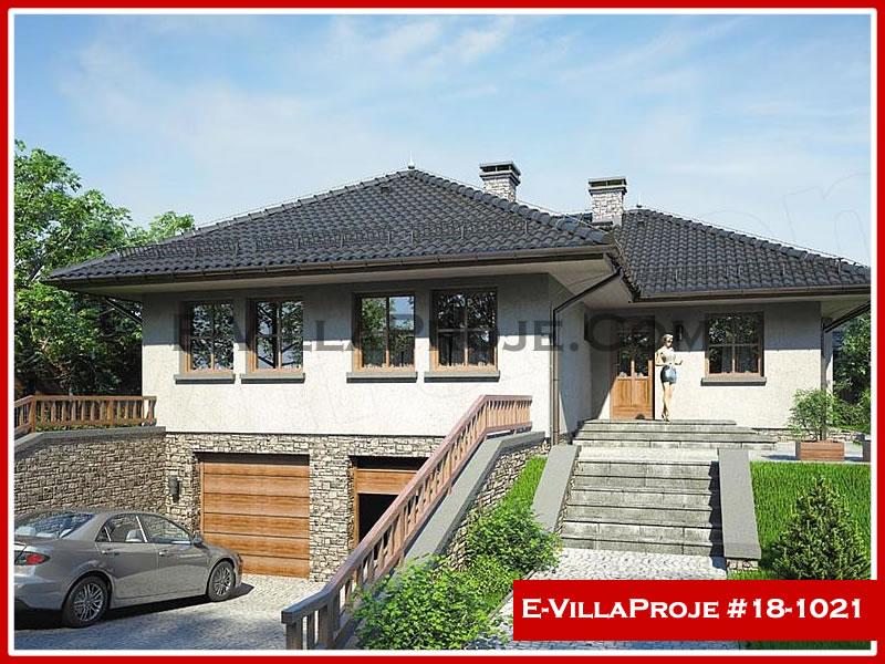 Ev Villa Proje #18 – 1021, 1 katlı, 3 yatak odalı, 2 garajlı, 139 m2