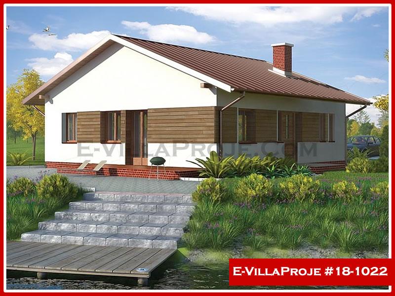 Ev Villa Proje #18 – 1022, 1 katlı, 2 yatak odalı, 0 garajlı, 100 m2