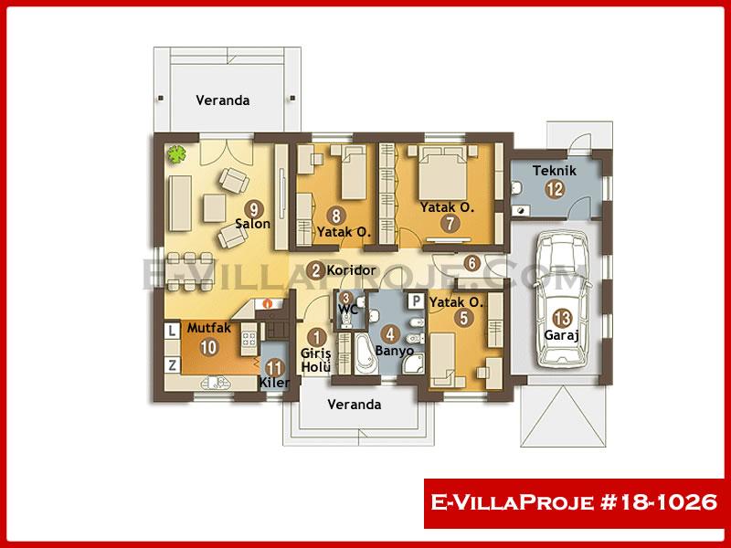 Ev Villa Proje #18 – 1026