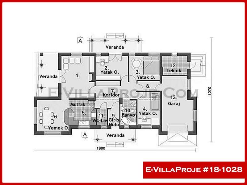 Ev Villa Proje #18 – 1028
