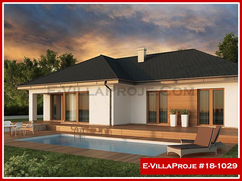 Ev Villa Proje #18 – 1029, 1 katlı, 3 yatak odalı, 2 garajlı, 161 m2