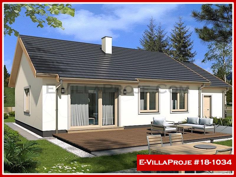Ev Villa Proje #18 – 1034, 1 katlı, 3 yatak odalı, 1 garajlı, 106 m2