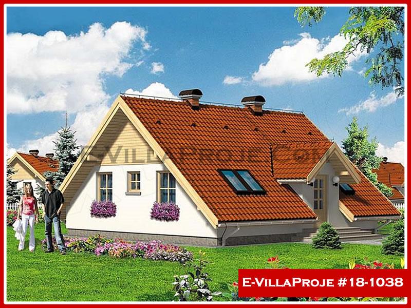Ev Villa Proje #18 – 1038, 1 katlı, 2 yatak odalı, 0 garajlı, 99 m2