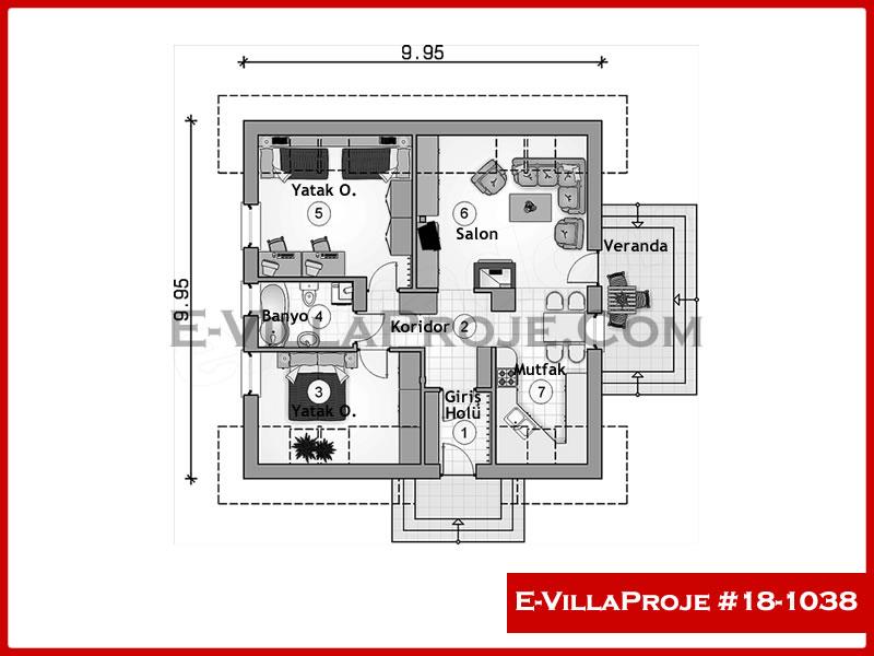 Ev Villa Proje #18 – 1038