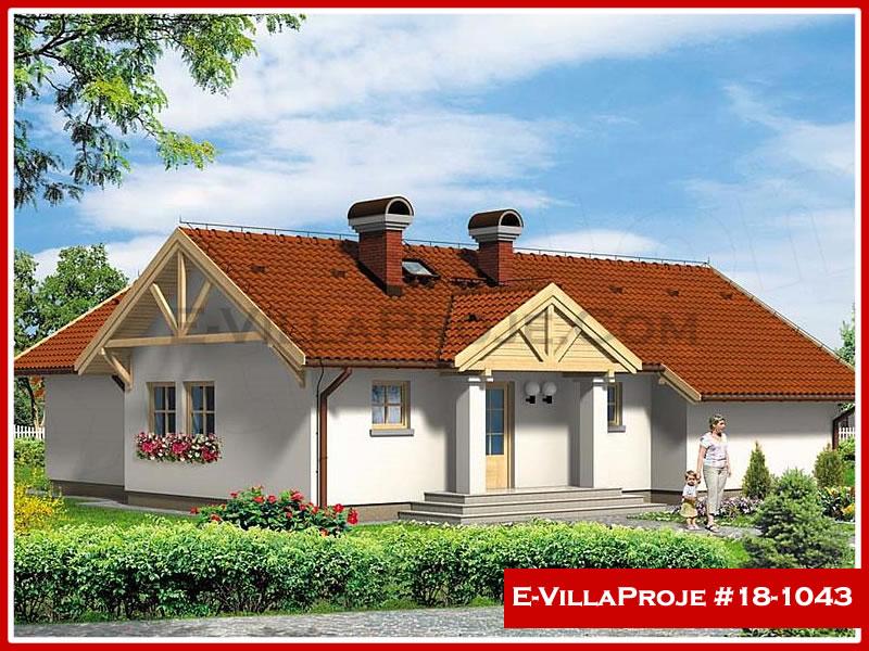 Ev Villa Proje #18 – 1043, 1 katlı, 3 yatak odalı, 0 garajlı, 134 m2