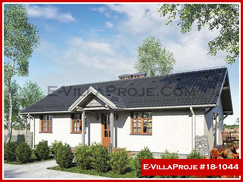 Ev Villa Proje #18 – 1044, 1 katlı, 3 yatak odalı, 0 garajlı, 122 m2