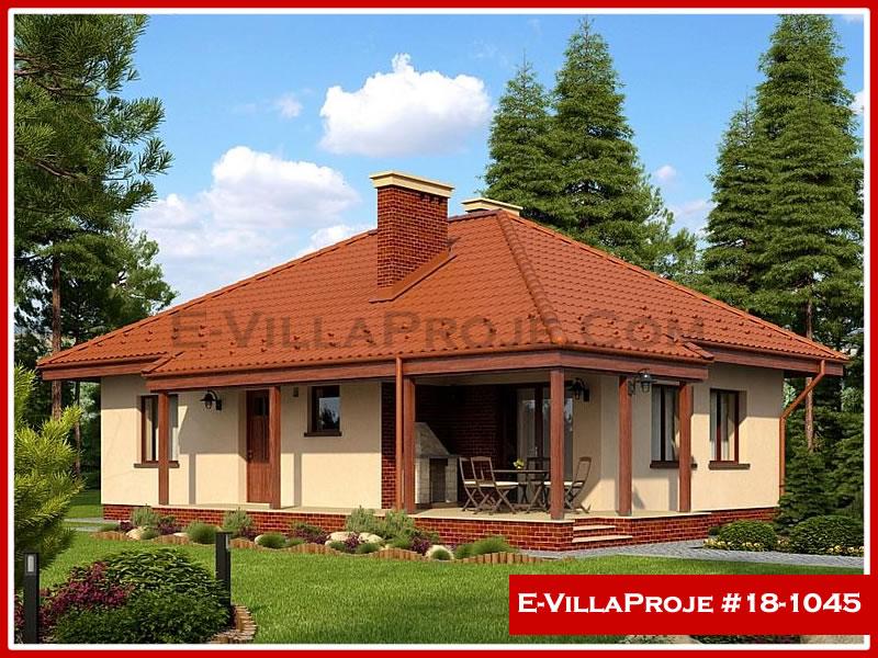 Ev Villa Proje #18 – 1045, 1 katlı, 2 yatak odalı, 0 garajlı, 103 m2