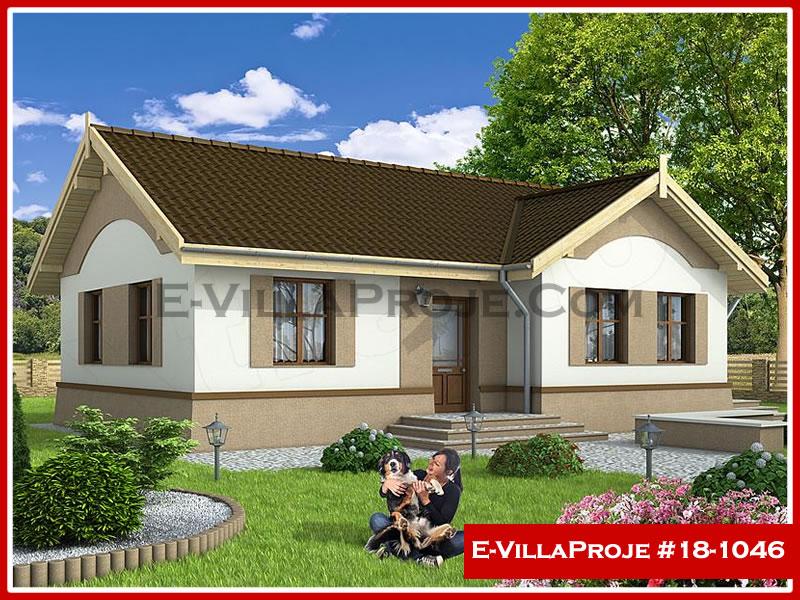 Ev Villa Proje #18 – 1046, 1 katlı, 2 yatak odalı, 0 garajlı, 102 m2