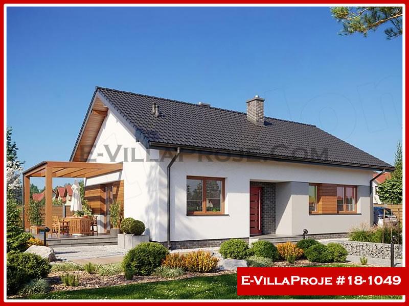 Ev Villa Proje #18 – 1049, 1 katlı, 2 yatak odalı, 0 garajlı, 106 m2