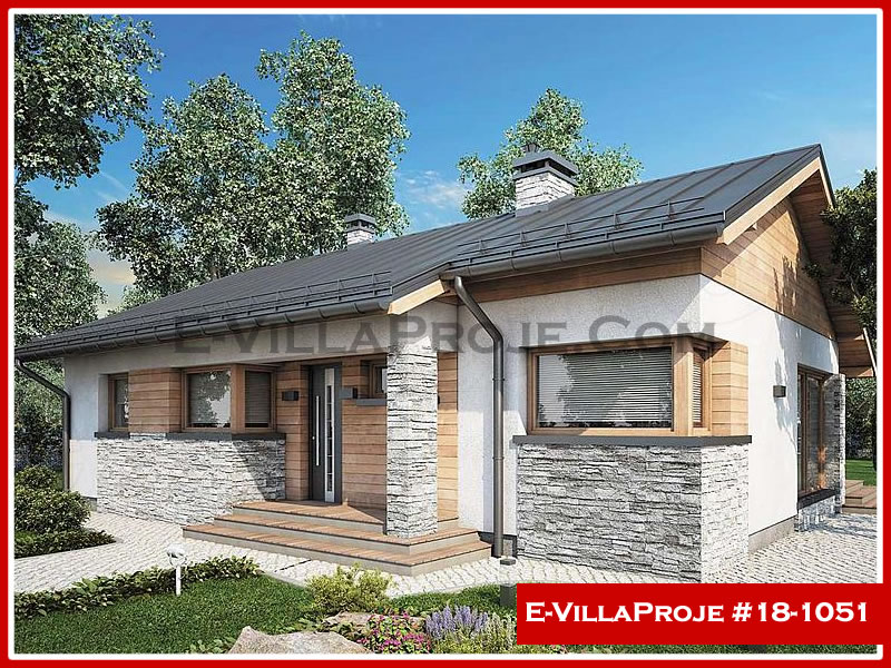 Ev Villa Proje #18 – 1051, 1 katlı, 3 yatak odalı, 0 garajlı, 106 m2
