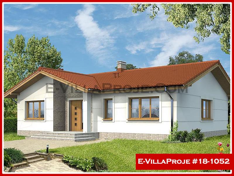 Ev Villa Proje #18 – 1052, 1 katlı, 4 yatak odalı, 0 garajlı, 131 m2