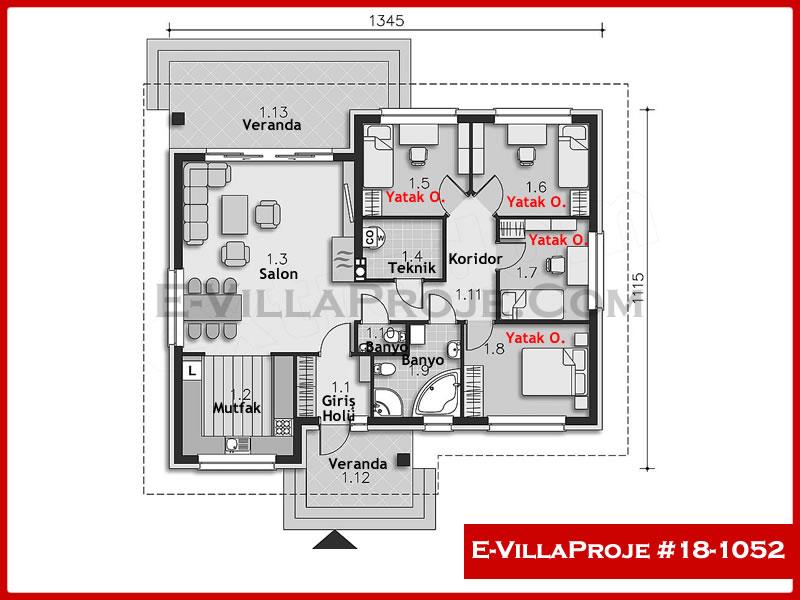 Ev Villa Proje #18 – 1052