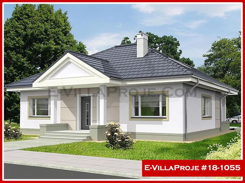 Ev Villa Proje #18 – 1055, 1 katlı, 3 yatak odalı, 0 garajlı, 135 m2