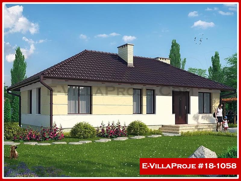 Ev Villa Proje #18 – 1058, 1 katlı, 3 yatak odalı, 0 garajlı, 102 m2