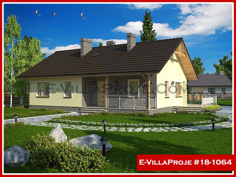 Ev Villa Proje #18 – 1064, 1 katlı, 2 yatak odalı, 0 garajlı, 109 m2