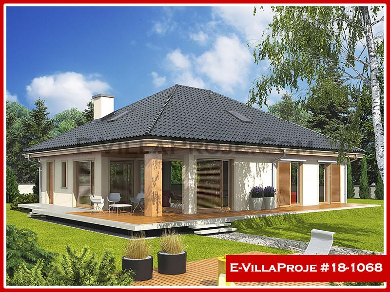 Ev Villa Proje #18 – 1068, 1 katlı, 3 yatak odalı, 0 garajlı, 150 m2