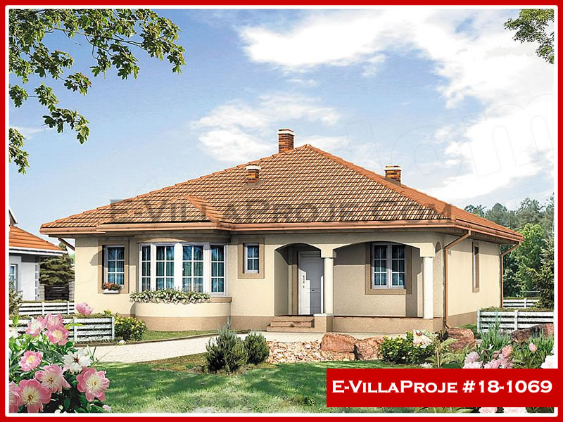 Ev Villa Proje #18 – 1069, 1 katlı, 3 yatak odalı, 0 garajlı, 141 m2
