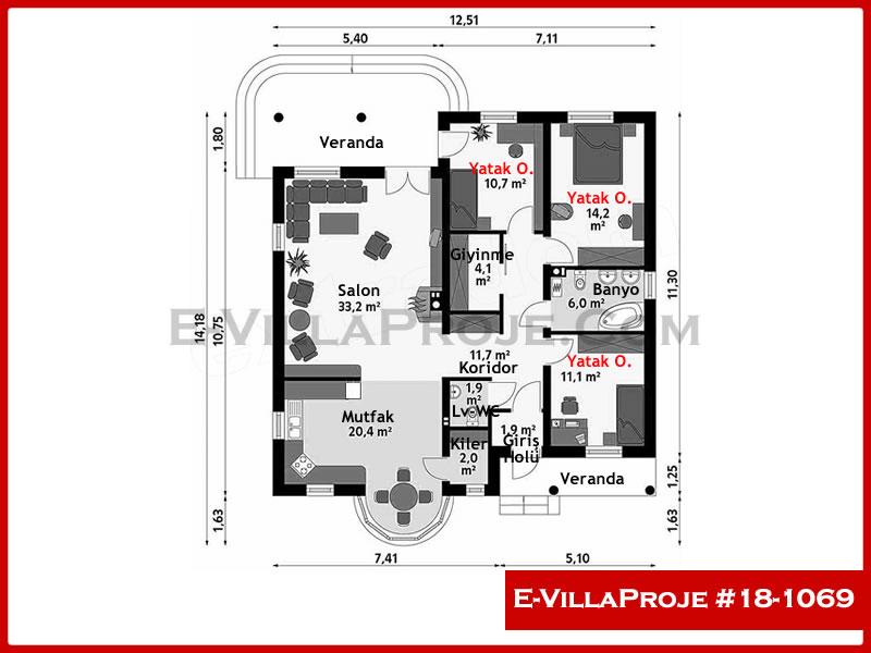 Ev Villa Proje #18 – 1069