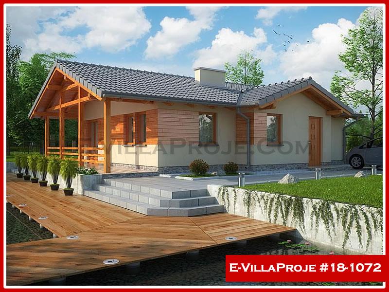 Ev Villa Proje #18 – 1072, 1 katlı, 3 yatak odalı, 0 garajlı, 94 m2