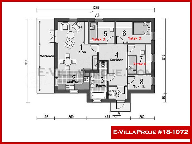 Ev Villa Proje #18 – 1072