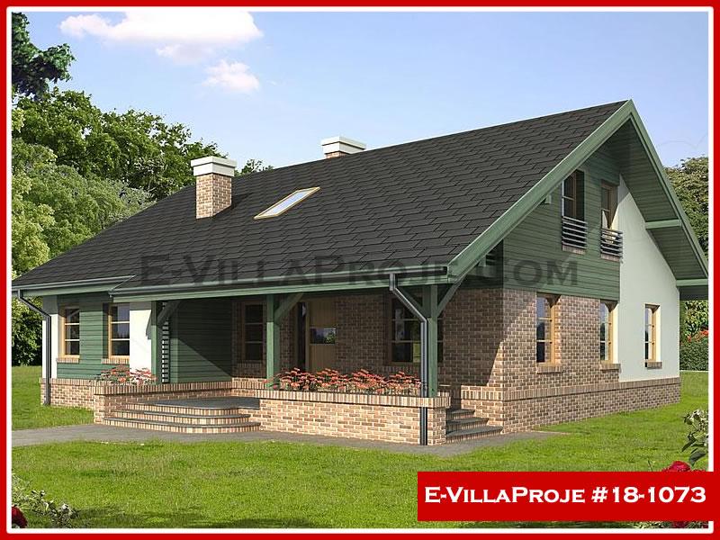 Ev Villa Proje #18 – 1073, 1 katlı, 3 yatak odalı, 0 garajlı, 130 m2