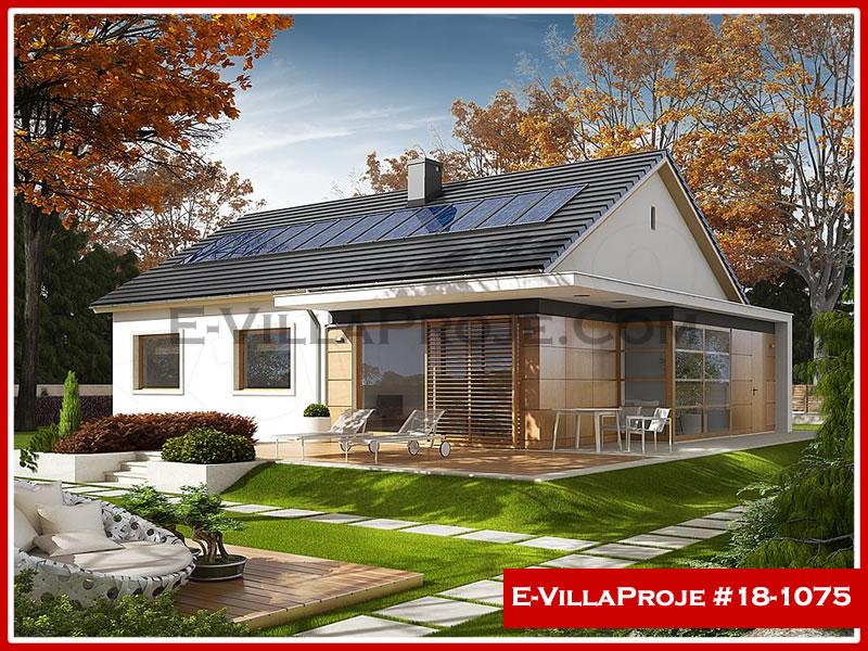 Ev Villa Proje #18 – 1075, 1 katlı, 3 yatak odalı, 0 garajlı, 127 m2