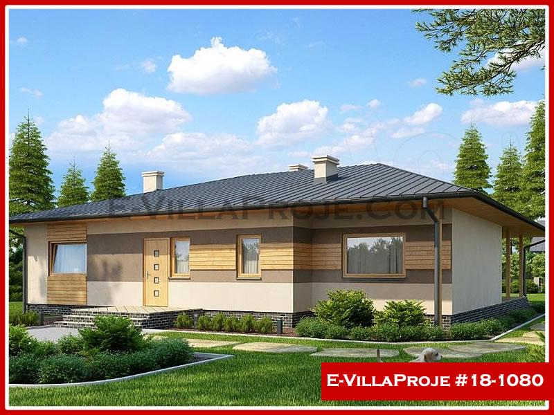 Ev Villa Proje #18 – 1080, 1 katlı, 3 yatak odalı, 0 garajlı, 186 m2
