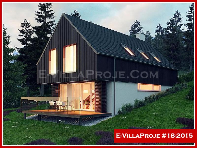 Ev Villa Proje #18 – 2015, 2 katlı, 2 yatak odalı, 0 garajlı, 171 m2