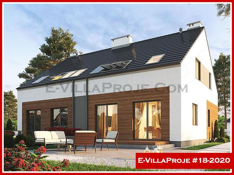 Ev Villa Proje #18 – 2020, 2 katlı, 3 yatak odalı, 1 garajlı, 146 m2