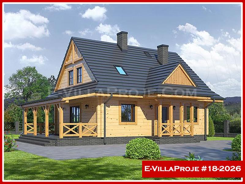 Ev Villa Proje #18 – 2026, 2 katlı, 4 yatak odalı, 0 garajlı, 160 m2
