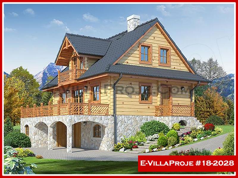 Ev Villa Proje #18 – 2028, 3 katlı, 3 yatak odalı, 0 garajlı, 243 m2