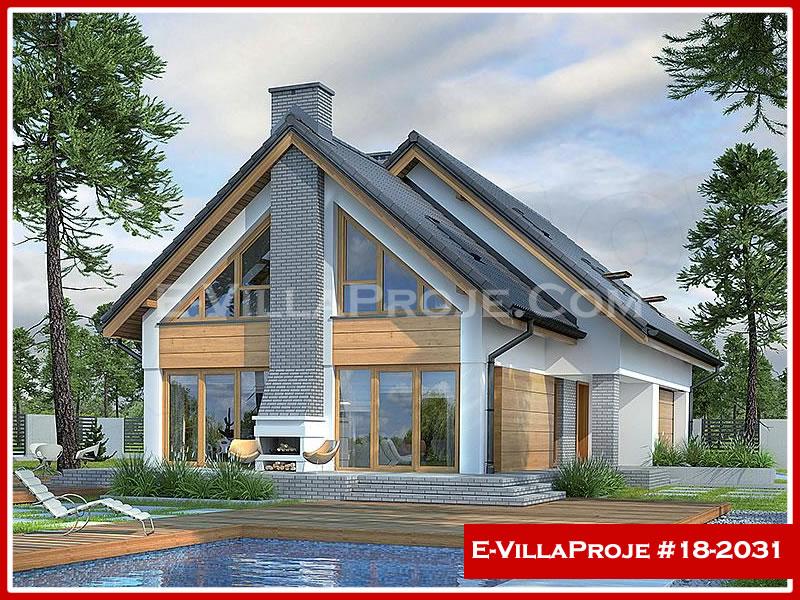 Ev Villa Proje #18 – 2031, 2 katlı, 4 yatak odalı, 2 garajlı, 252 m2