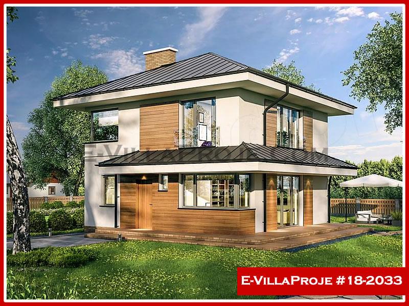 Ev Villa Proje #18 – 2033, 2 katlı, 4 yatak odalı, 0 garajlı, 145 m2