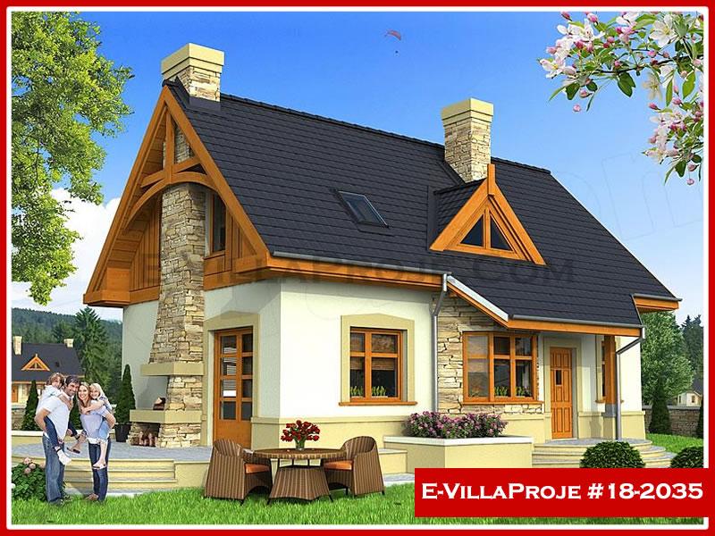 Ev Villa Proje #18 – 2035, 2 katlı, 4 yatak odalı, 0 garajlı, 187 m2
