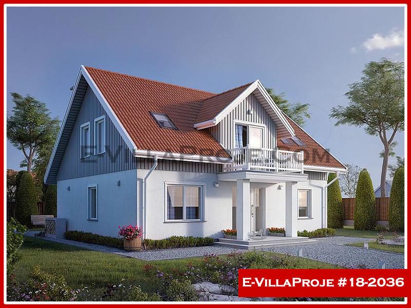 Ev Villa Proje #18 – 2036, 2 katlı, 4 yatak odalı, 0 garajlı, 206 m2