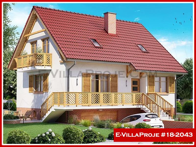 Ev Villa Proje #18 – 2043, 2 katlı, 1 yatak odalı, 2 garajlı, 197 m2