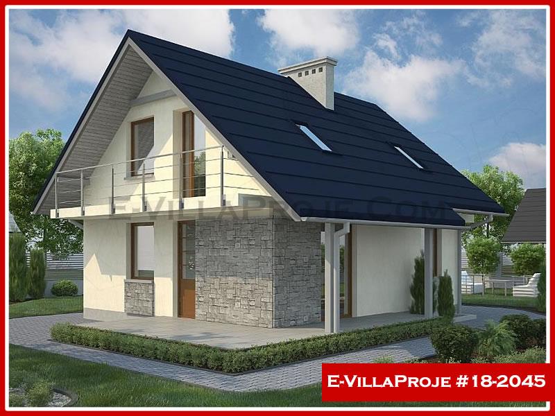 Ev Villa Proje #18 – 2045, 2 katlı, 2 yatak odalı, 0 garajlı, 123 m2