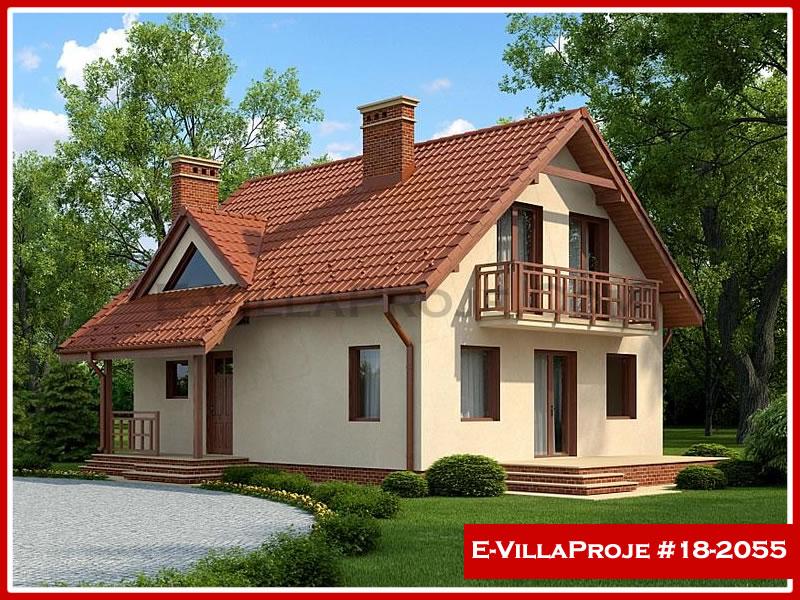 Ev Villa Proje #18 – 2055, 2 katlı, 3 yatak odalı, 0 garajlı, 169 m2