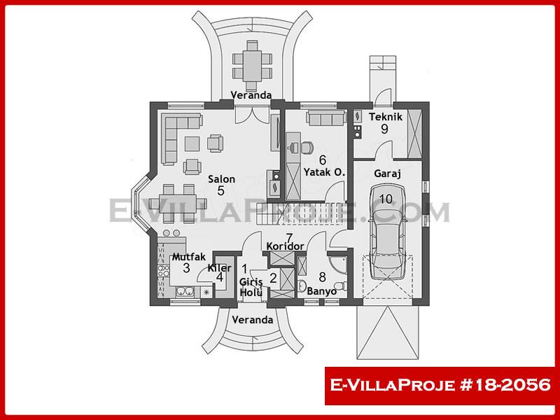 Ev Villa Proje #18 – 2056