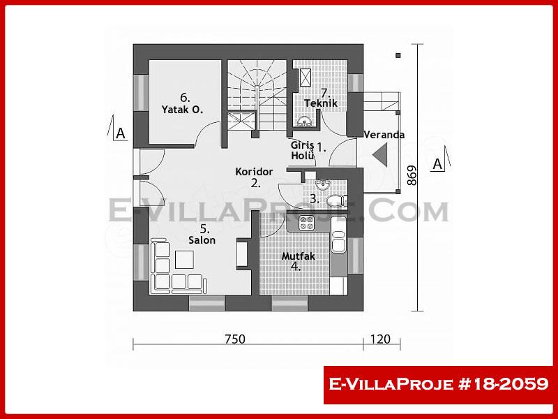Ev Villa Proje #18 – 2059
