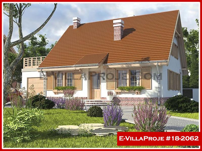 Ev Villa Proje #18 – 2062, 2 katlı, 5 yatak odalı, 1 garajlı, 210 m2