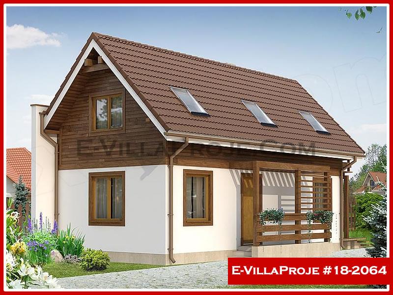 Ev Villa Proje #18 – 2064, 2 katlı, 3 yatak odalı, 0 garajlı, 115 m2