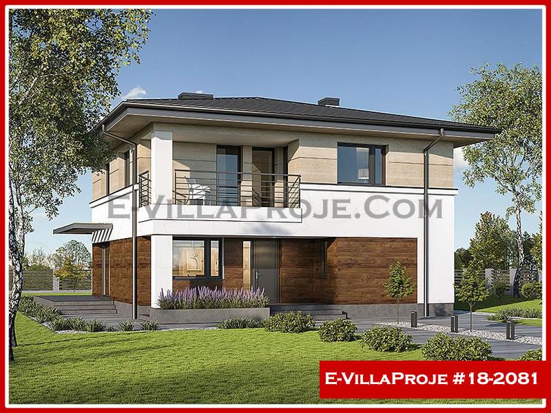 Ev Villa Proje #18 – 2081, 2 katlı, 6 yatak odalı, 0 garajlı, 224 m2