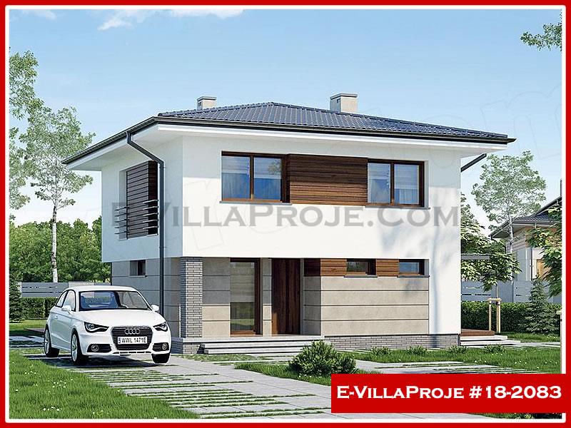 Ev Villa Proje #18 – 2083, 2 katlı, 4 yatak odalı, 0 garajlı, 173 m2