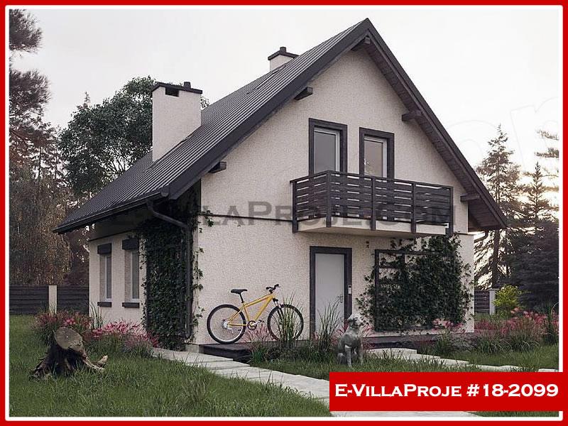 Ev Villa Proje #18 – 2099, 2 katlı, 3 yatak odalı, 0 garajlı, 145 m2